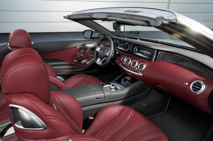 Mercedes-AMG S 63 Cabriolet Edition 130 interior