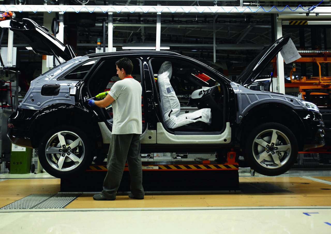 Audi Q3 produccion Martorell