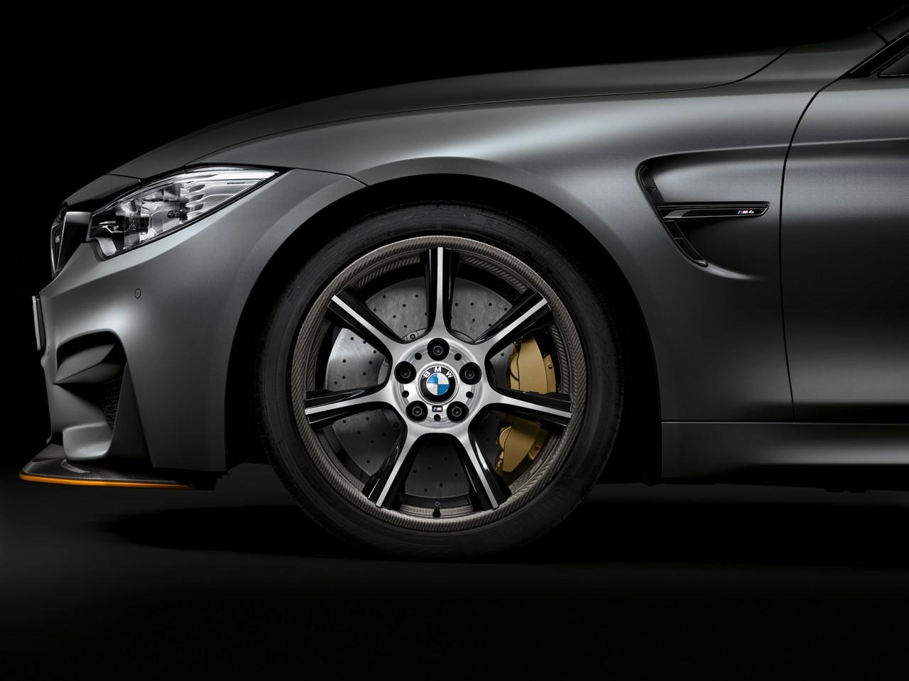 BMW M4 llantas carbono