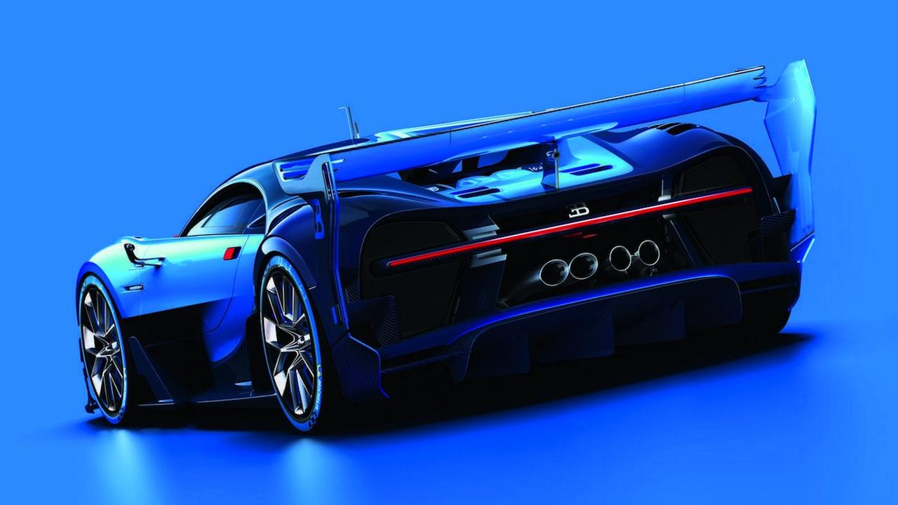 Bugatti Vision GranTurismo trasera