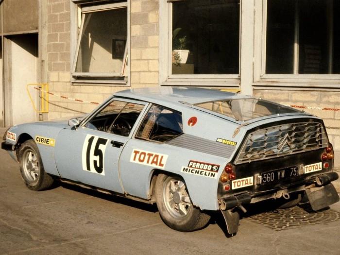 Citroen SM prototype Shortened 1973 01