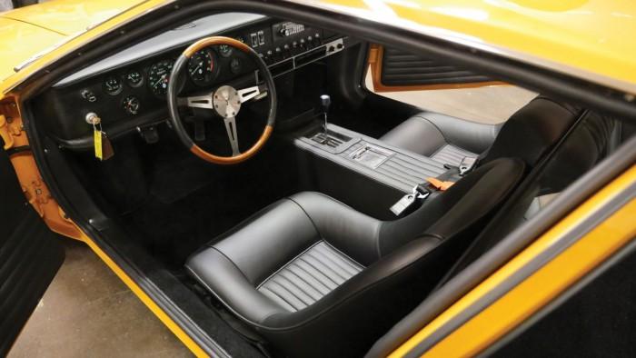 De Tomaso Mangusta 1969 interior 1
