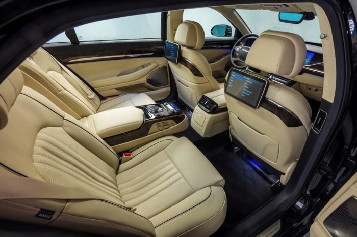 Genesis G90 2016 interior 01