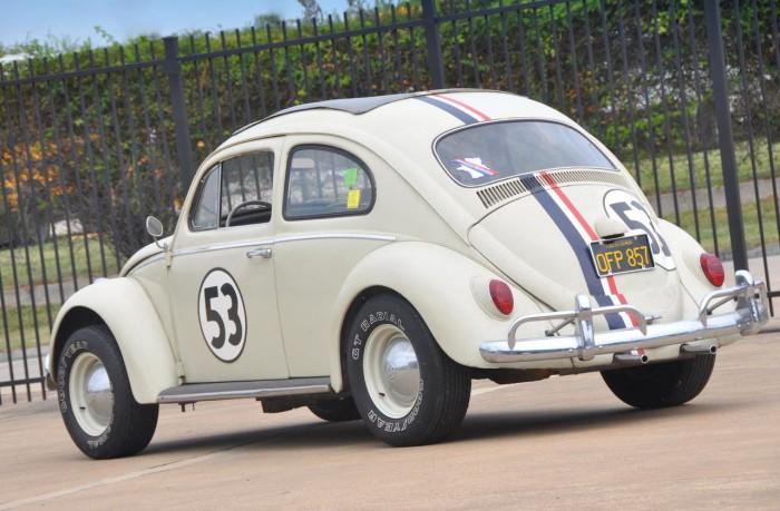 Herbie VW Beetle 1963 subasta 3