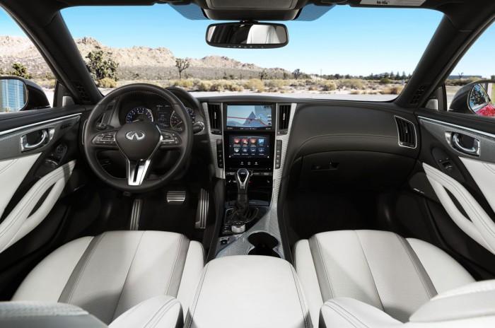 Infiniti Q60 2016 interior 1