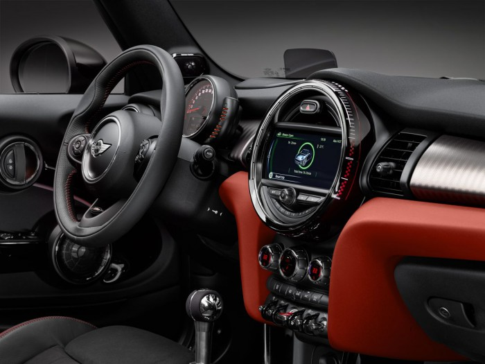 MINI John Cooper Works Cabrio 2016 interior 2