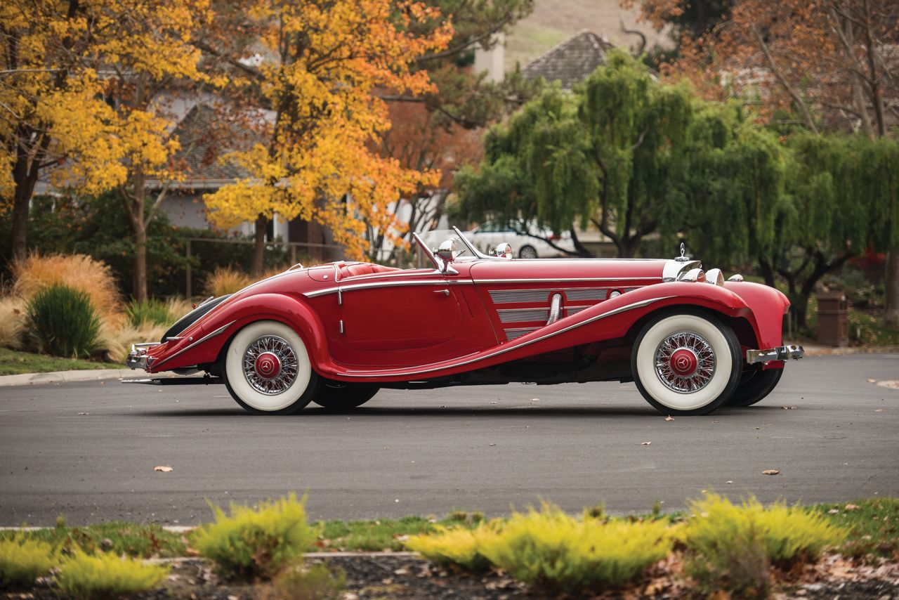 Mercedes-Benz 540K Special Roadster 1937 38