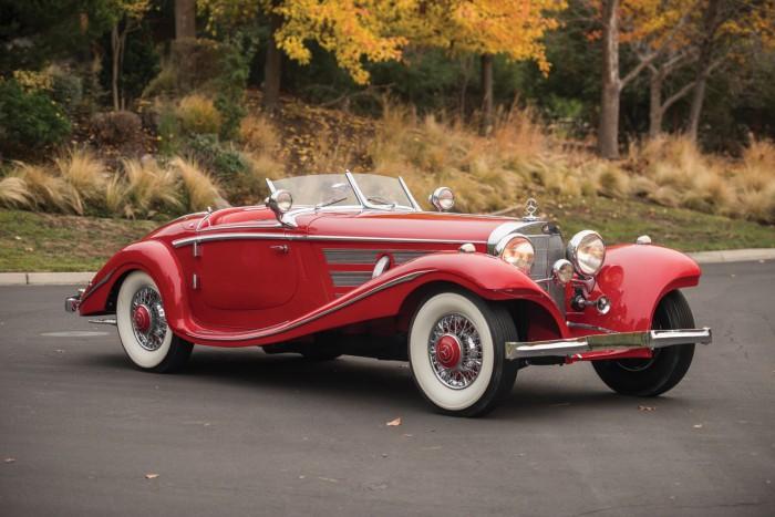 Mercedes-Benz 540K Special Roadster 1937 39