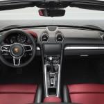 Porsche 718 Boxster 2016 interior 01
