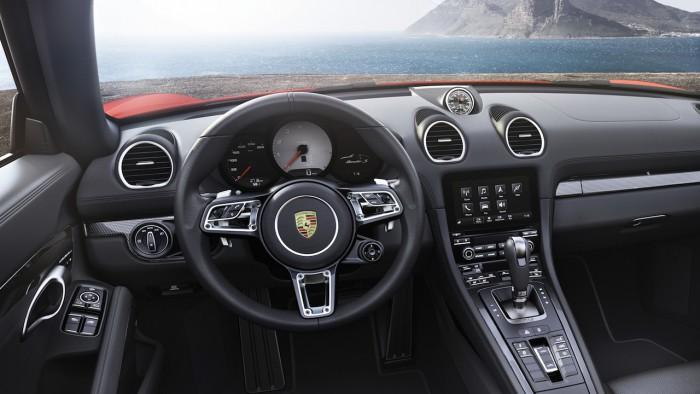 Porsche 718 Boxster S 2016 interior 01