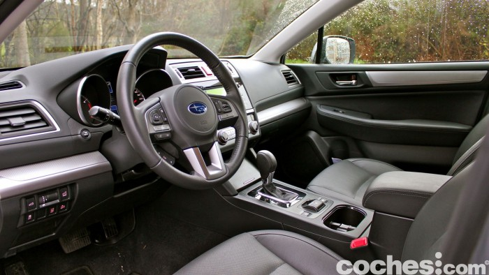 Prueba Subaru Outback 2016 interior 01