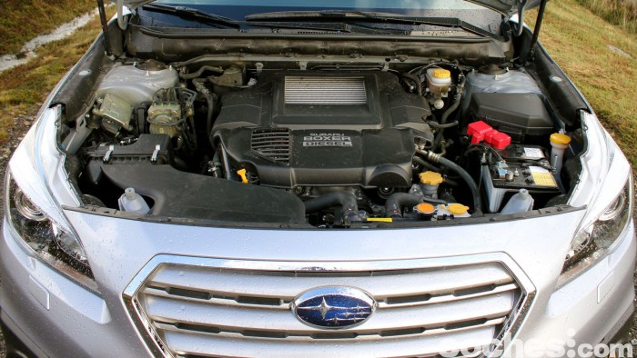 Prueba Subaru Outback 2016 motor 1
