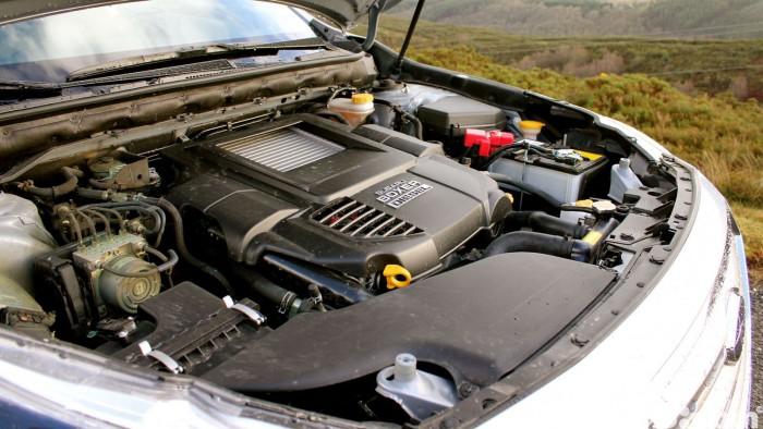Prueba Subaru Outback 2016 motor 2