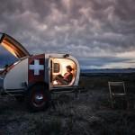 Teardrop Vintage Overland caravana 01