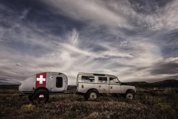 Teardrop Vintage Overland caravana 06