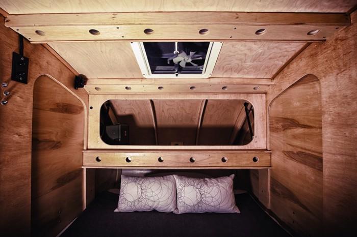 Teardrop Vintage Overland caravana 14