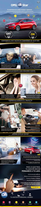 infografia Opel OnStar