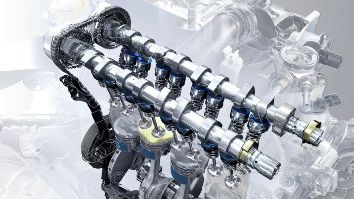 motor coche aceite