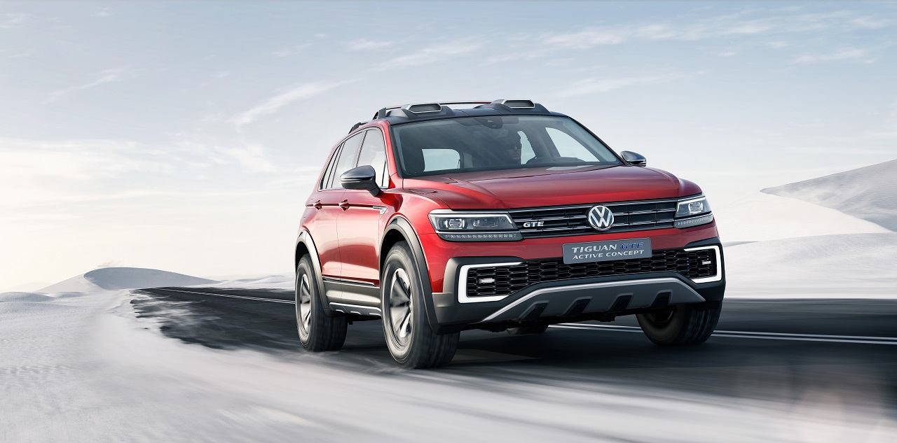 Volkswagen Tiguan GTE Active Concept 2016