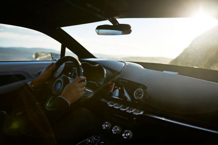 Alpine Vision Concept 2016 interior 1