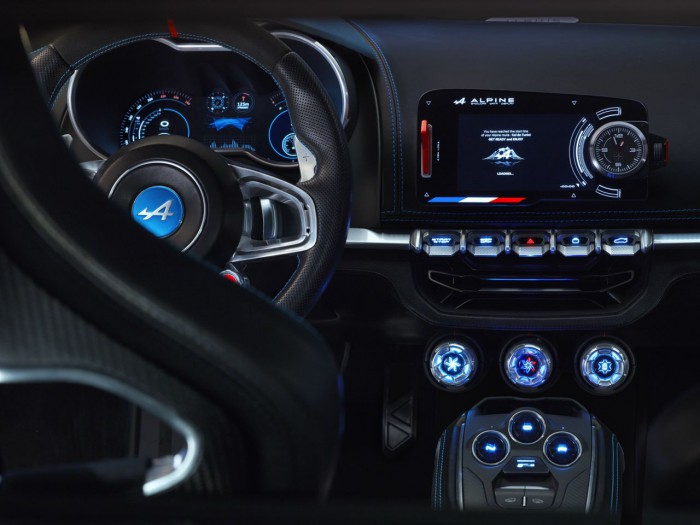 Alpine Vision Concept 2016 interior 4