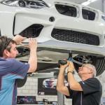 BMW M2 MotoGP Safety Car 2016 desarrollo 7