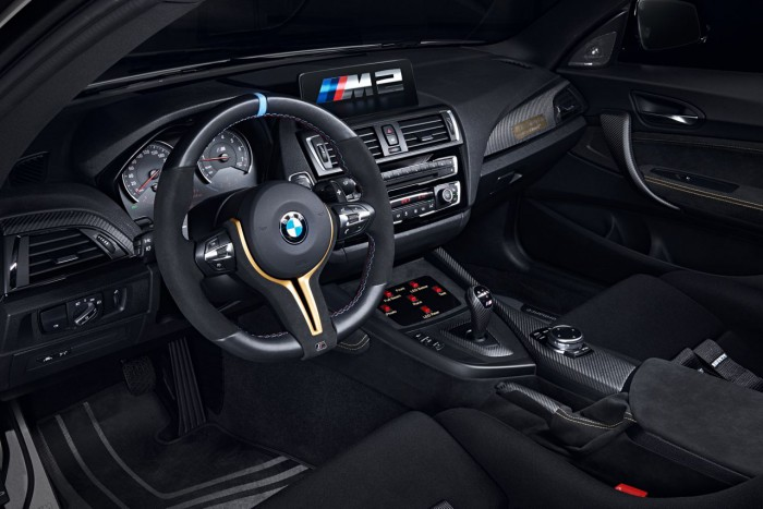 BMW M2 MotoGP Safety Car 2016 interior 1