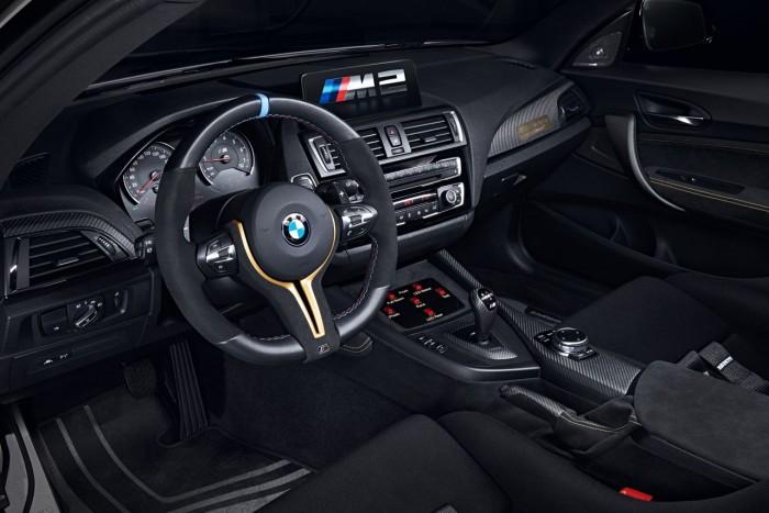BMW M2 MotoGP Safety Car 2016 interior 1