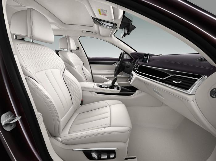 BMW M760Li xDrive V12 Excellence 2016 interior 3