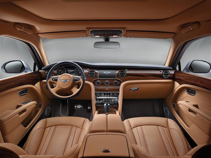Bentley Mulsanne 2016 interior 06
