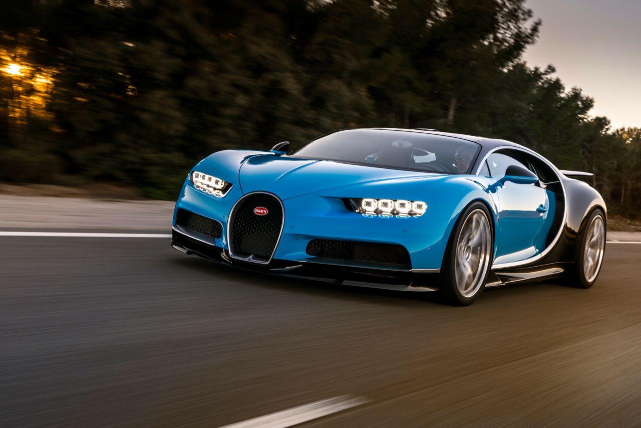 Bugatti Chiron: de 0 a 300 km/h en 13,1 segundos sin despeinarse