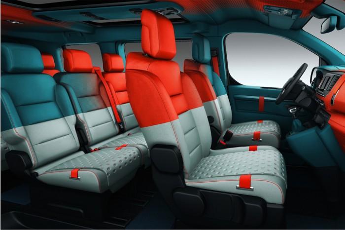 Citroën Spacetourer HYPHEN Concept 2016 interior 01
