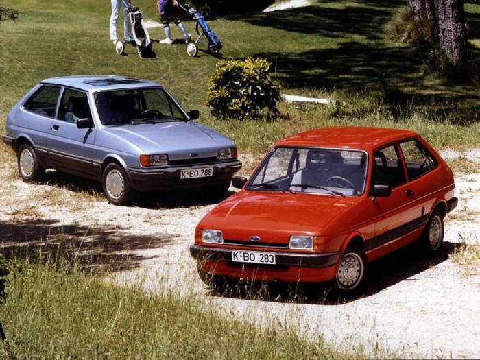Ford Fiesta segunda generación