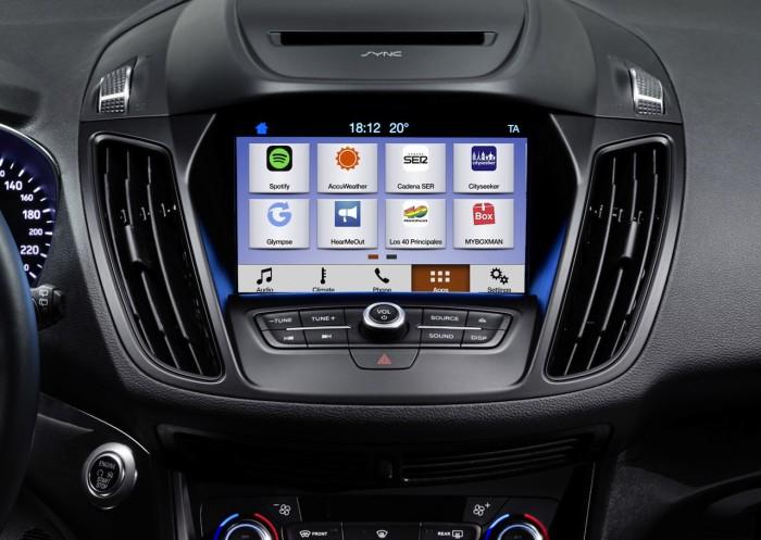 Ford Kuga 2016 interior SYNC 3 01