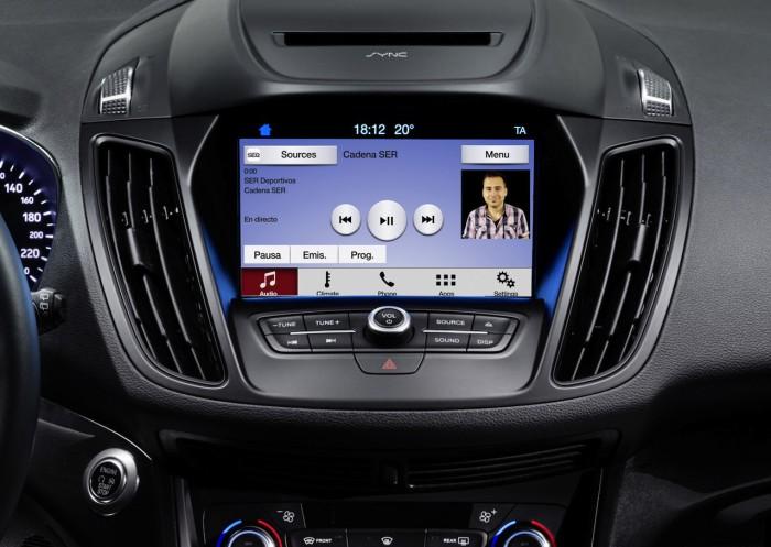 Ford Kuga 2016 interior SYNC 3 03