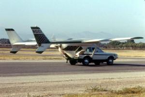 La historia del primer coche volador que acabó con sus creadores