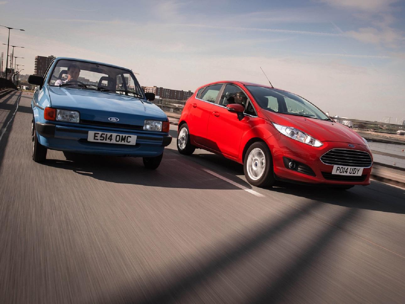 Ford fiesta generaciones