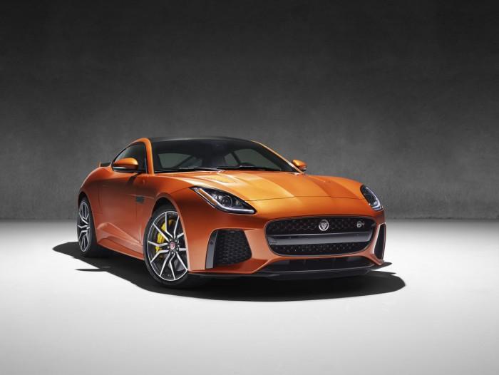 Jaguar F-Type SVR Coupe 2016 12