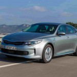 Kia Optima Plug-in Hybrid 2017 delantera