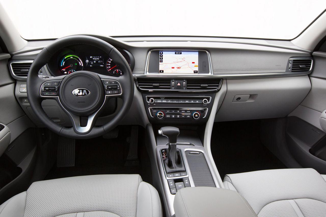 Kia Optima 2017 White >> Kia Optima Plug-in Hybrid 2017, el híbrido enchufable