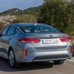 Kia Optima Plug-in Hybrid 2017 trasera