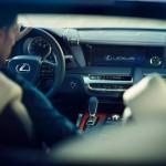 Lexus LC 500h 2017 interior 04