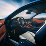 Lexus LC 500h 2017 interior 05