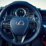 Lexus LC 500h 2017 interior 06