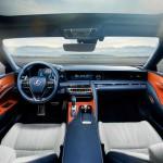 Lexus LC 500h 2017 interior 09