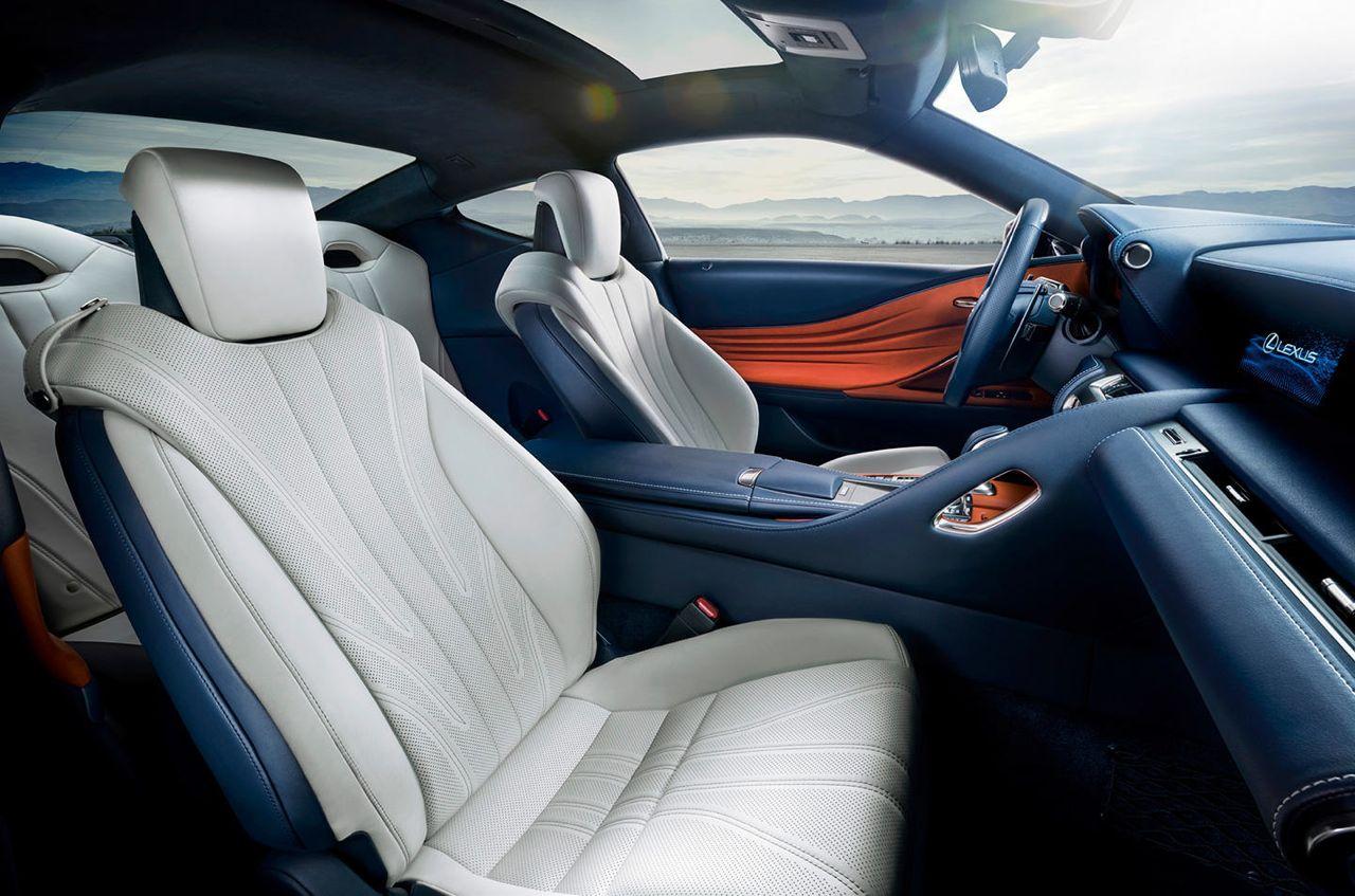 Lexus Lf Lc Interior >> Lexus LC 500h 2017, el lujoso coupé estrena sistema híbrido