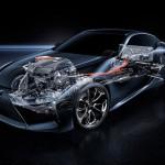Lexus LC 500h 2017 tecnica 1