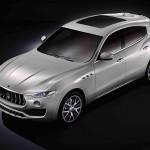 Maserati Levante 2016 cenital
