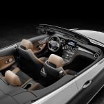 Mercedes-Benz C 220d 4MATIC Cabriolet, Edition 1,  Exterieur:  designo selenitgrau magno, AMG Line; Interior: schwarz/nussbraun,  Kraftstoffverbrauch (l/100 km) innerorts/außerorts/kombiniert:  5,4/3,9/4,5 CO2-Emissionen kombiniert: 116 g/km Exterior: designo selenite grey, AMG Line; interior:  black/nut brown  Fuel consumption (l/100 km) urban/ex urban/combined:   5.4/3.9/4.5 combined CO2 emissions:  116 g/km