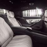 Mercedes-Maybach S 600 Guard 2016 interior 1
